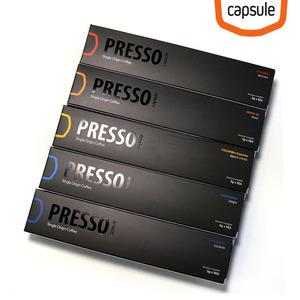프레소 싱글오리진 캡슐커피 네스프레소 호환캡슐 5Box (25개입)